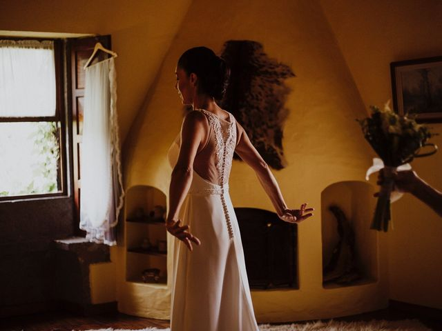 La boda de Jair y Helena en Teror, Las Palmas 25