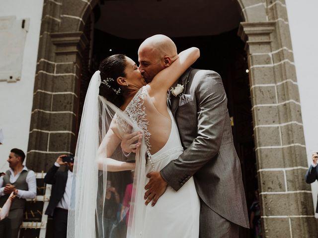 La boda de Jair y Helena en Teror, Las Palmas 36
