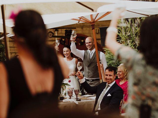 La boda de Jair y Helena en Teror, Las Palmas 63