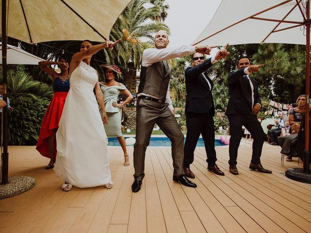 La boda de Jair y Helena en Teror, Las Palmas 68