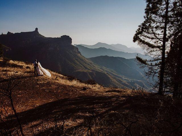 La boda de Jair y Helena en Teror, Las Palmas 88