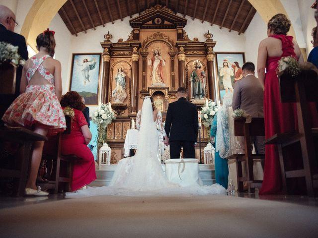 La boda de Antonio y Azahara en Rioja, Almería 23