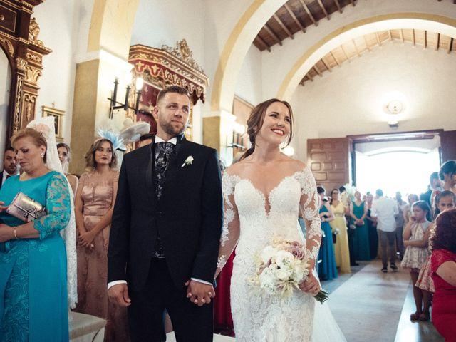 La boda de Antonio y Azahara en Rioja, Almería 29