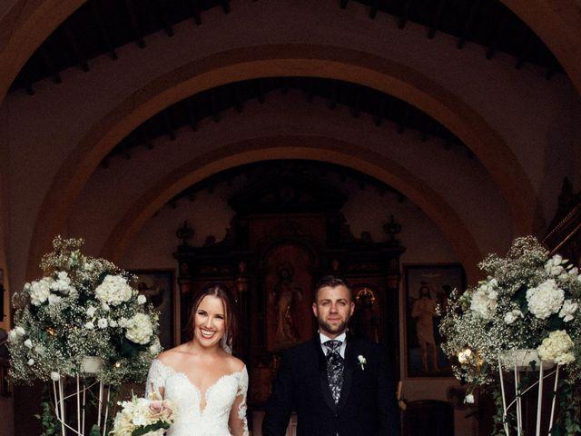 La boda de Antonio y Azahara en Rioja, Almería 31