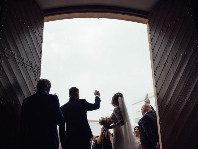 La boda de Antonio y Azahara en Rioja, Almería 32