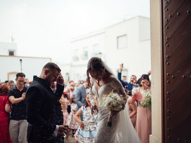 La boda de Antonio y Azahara en Rioja, Almería 34