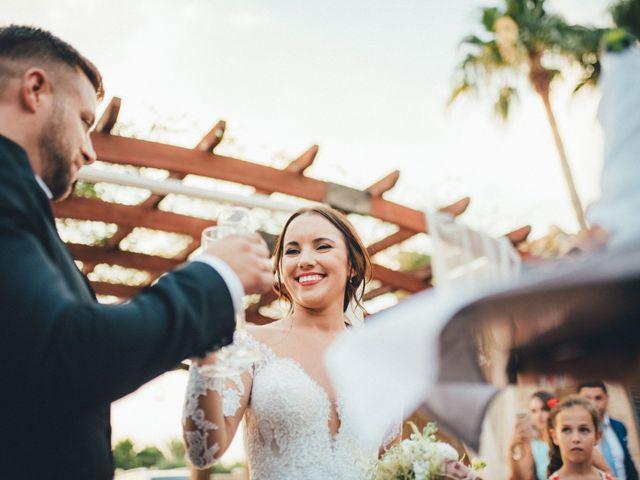 La boda de Antonio y Azahara en Rioja, Almería 53