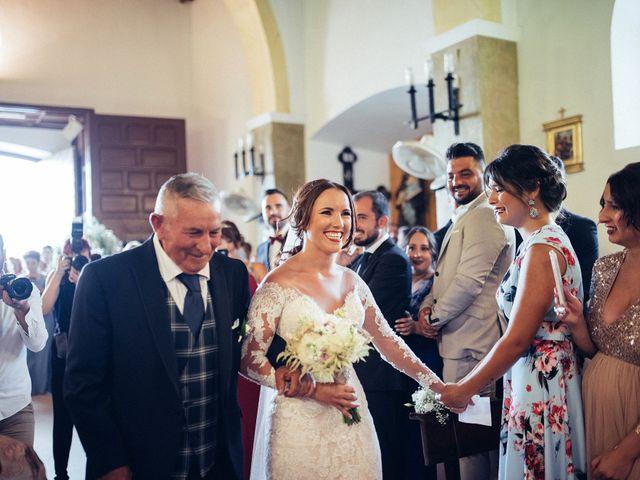 La boda de Antonio y Azahara en Rioja, Almería 21