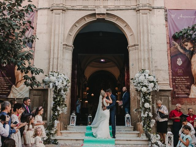 La boda de José Antonio  y Tamara en Huercal De Almeria, Almería 11