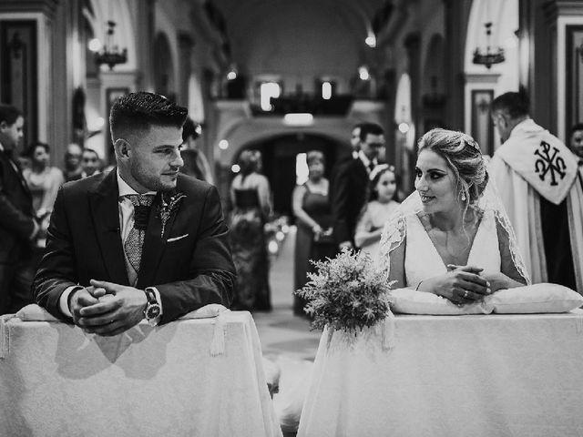 La boda de José Antonio  y Tamara en Huercal De Almeria, Almería 24