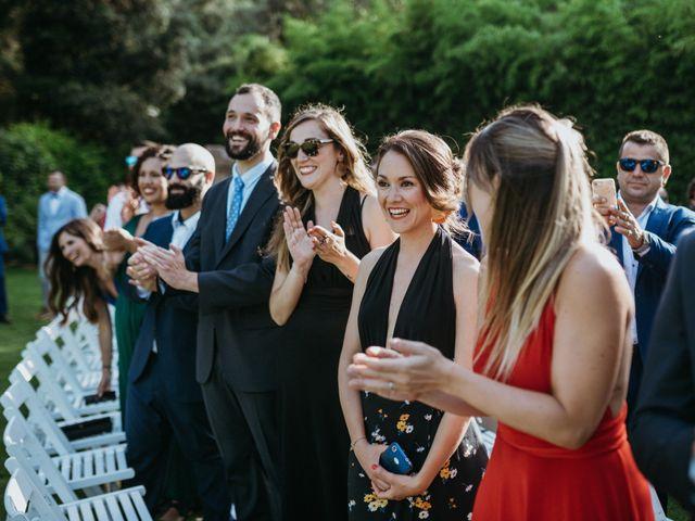 La boda de Miguel y Silvia en Sant Fost De Campsentelles, Barcelona 50