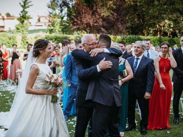 La boda de Miguel y Silvia en Sant Fost De Campsentelles, Barcelona 54