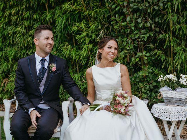 La boda de Miguel y Silvia en Sant Fost De Campsentelles, Barcelona 56