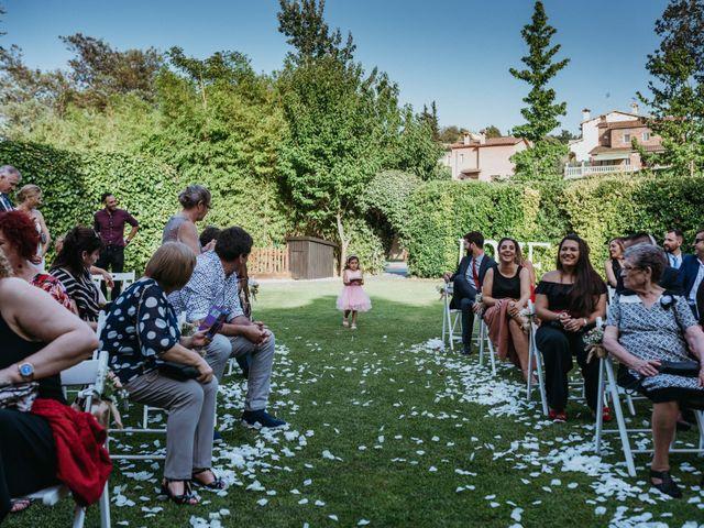 La boda de Miguel y Silvia en Sant Fost De Campsentelles, Barcelona 73