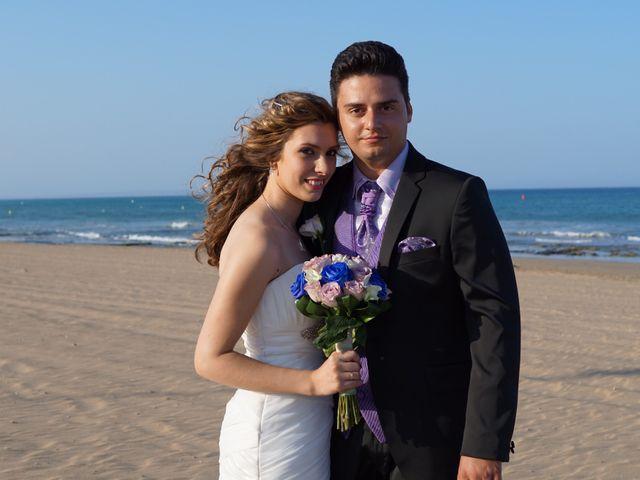 La boda de Abraham  y Sheila en Los Perez (Ayuntamiento Torrevieja), Alicante 27