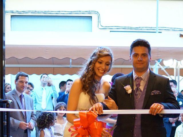 La boda de Abraham  y Sheila en Los Perez (Ayuntamiento Torrevieja), Alicante 43