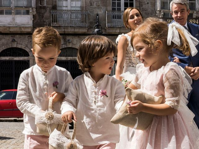 La boda de Pablo y Noly en Chantada (Casco Urbano), Lugo 42
