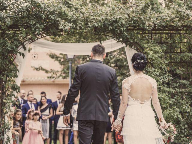 La boda de Javier y Silvia en Carranque, Toledo 46