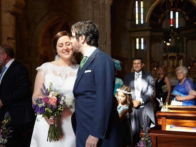 La boda de Pablo y Vane en Telleiro, A Coruña 2