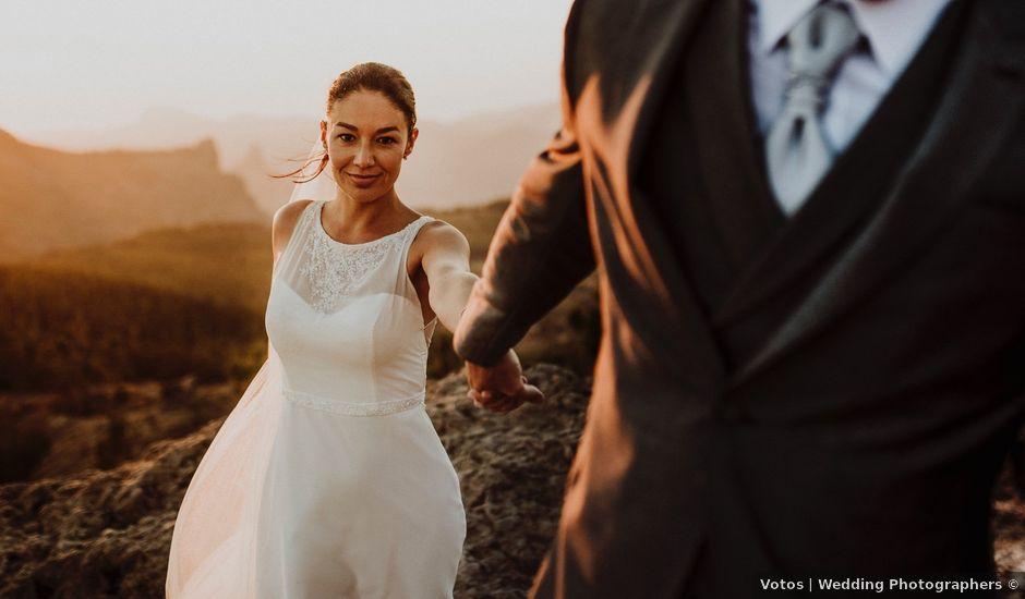La boda de Jair y Helena en Teror, Las Palmas