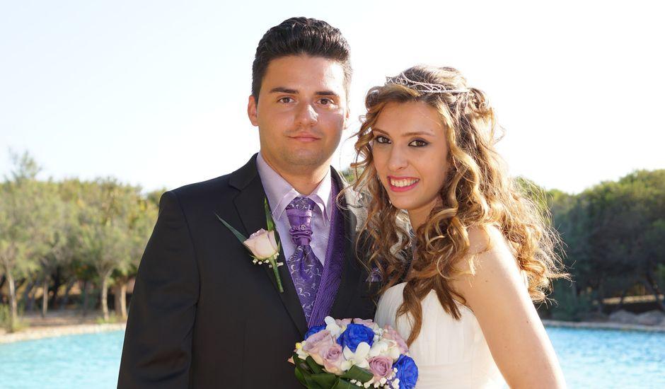 La boda de Abraham  y Sheila en Los Perez (Ayuntamiento Torrevieja), Alicante