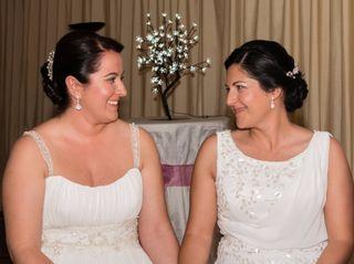 La boda de Estela y Mónica
