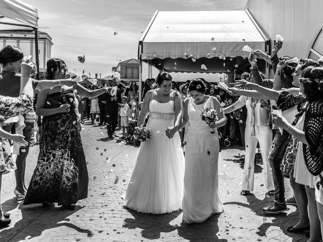 La boda de Mónica y Estela en Arroyo De San Servan, Badajoz 2