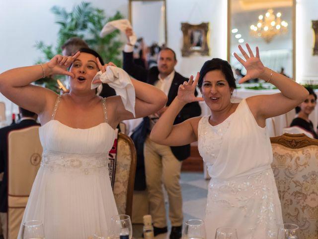 La boda de Mónica y Estela en Arroyo De San Servan, Badajoz 7