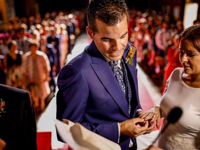 La boda de Dani y Bea en Zarza La Mayor, Cáceres 79