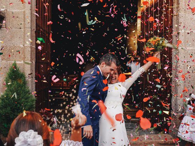 La boda de Dani y Bea en Zarza La Mayor, Cáceres 95