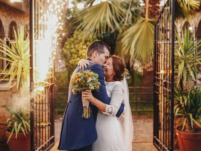 La boda de Dani y Bea en Zarza La Mayor, Cáceres 112