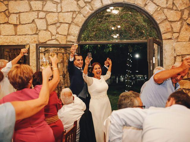 La boda de Dani y Bea en Zarza La Mayor, Cáceres 119