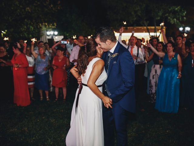 La boda de Dani y Bea en Zarza La Mayor, Cáceres 127