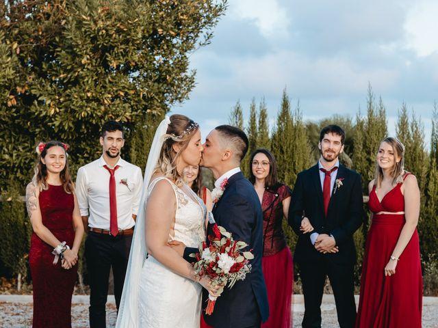 La boda de Fran y Mireia en Olerdola, Barcelona 54