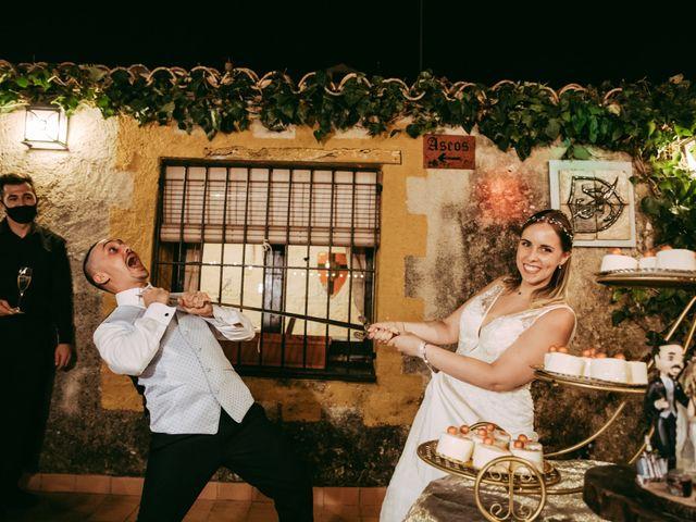 La boda de Fran y Mireia en Olerdola, Barcelona 83