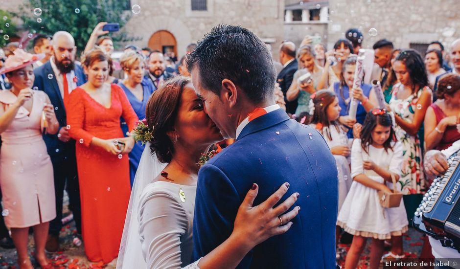 La boda de Dani y Bea en Zarza La Mayor, Cáceres