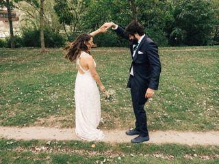 La boda de Mangels y Martín