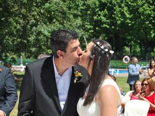 La boda de Verónica y Santiago