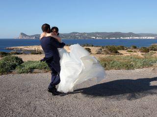 La boda de Rosario y Sergi
