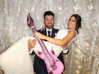 La boda de Victoria y David