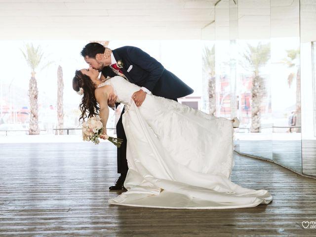 La boda de Alberto y Vanesa en Cartagena, Murcia 1