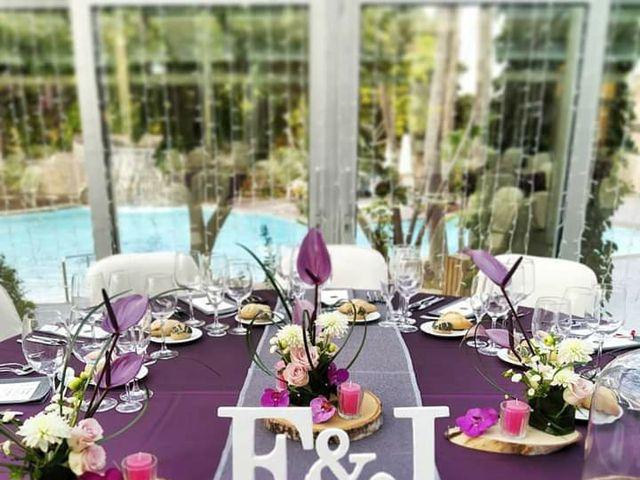 La boda de Erika y Jero en La/villajoyosa Vila Joiosa, Alicante 1