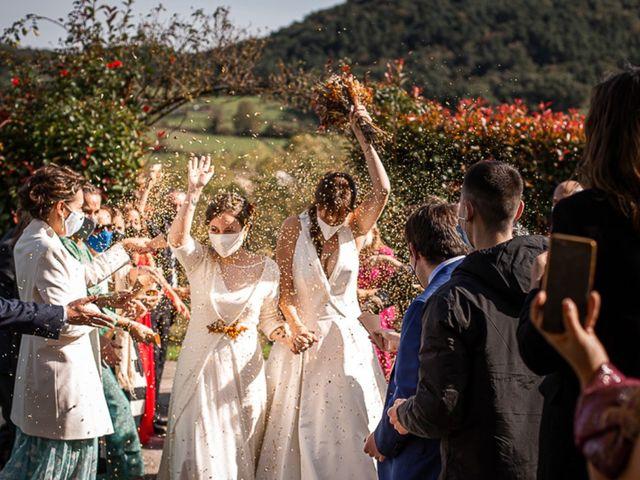 La boda de Paula y Marta en Quejana, Álava 1