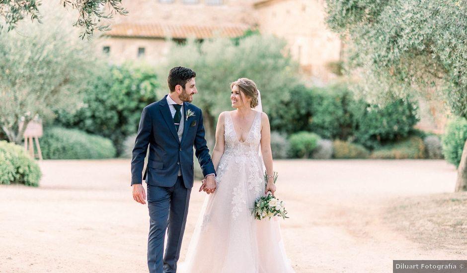 La boda de Daniel y Taormina en La Bisbal d'Empordà, Girona
