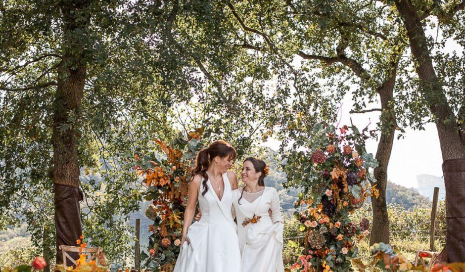 La boda de Paula y Marta en Quejana, Álava