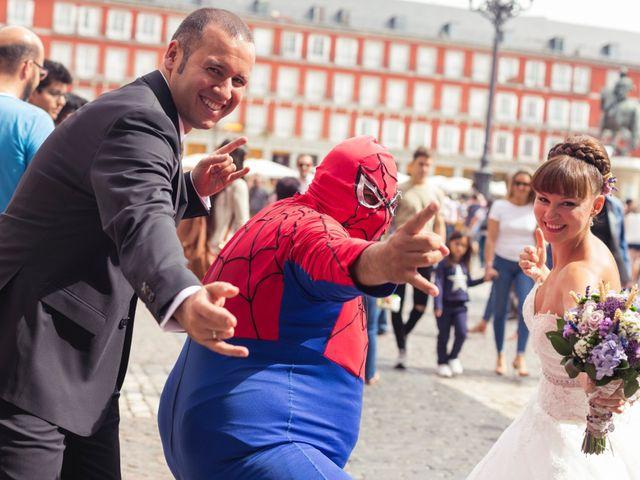 La boda de Miguel y Natalia en Madrid, Madrid 20