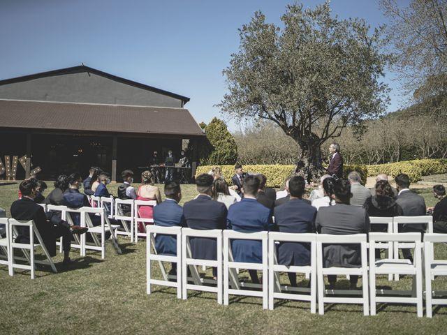 La boda de Daniel y Alina en Bonmati, Girona 3