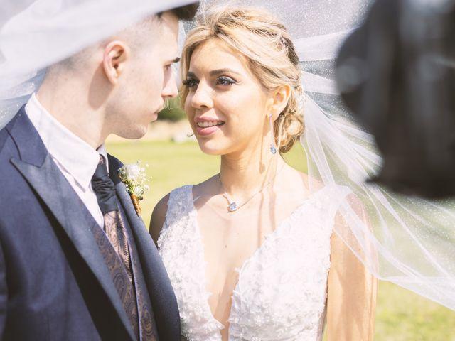 La boda de Daniel y Alina en Bonmati, Girona 1