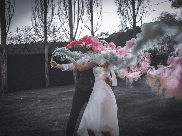 La boda de Daniel y Alina en Bonmati, Girona 2