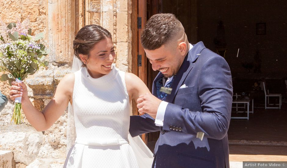 La boda de Jorge y Paula en Lupiana, Guadalajara
